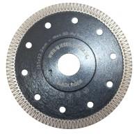 "High-end diamond disc - ""BLACK TIGER"" - 125 mm, 130 mm - ornament segment, reinforced flange"