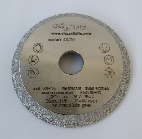 Sigma ergonomic handle for Klick Klock, 8 mm