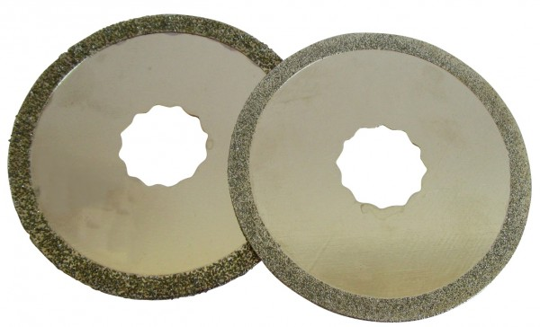 Diamantscheibe für Fein® Supercut Durchmesser 74mm 1,2 und 2,2 mm