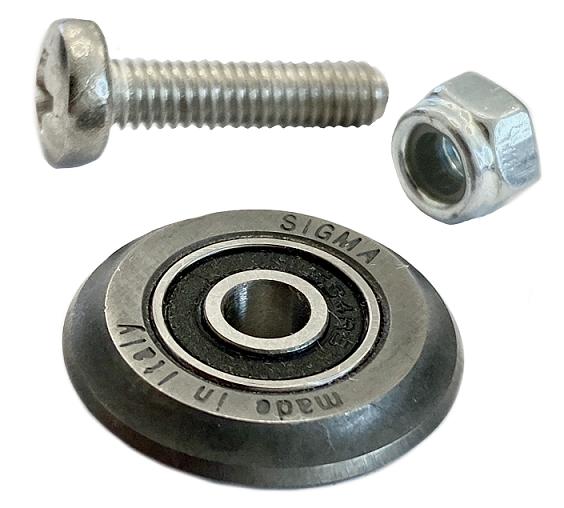 Sigma Ersatzrädchen 19 mm mit Kugellager für MAX-Serie