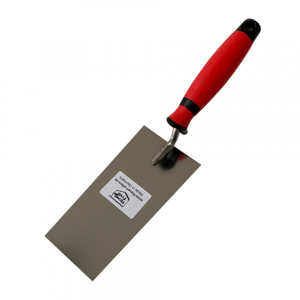 Berner plaster trowel - 160 mm - stainless steel, Made in Germany