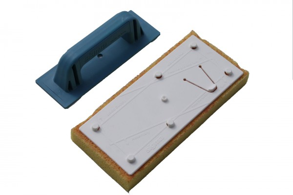 Sponge board, Sigma original, incl. exchange handle