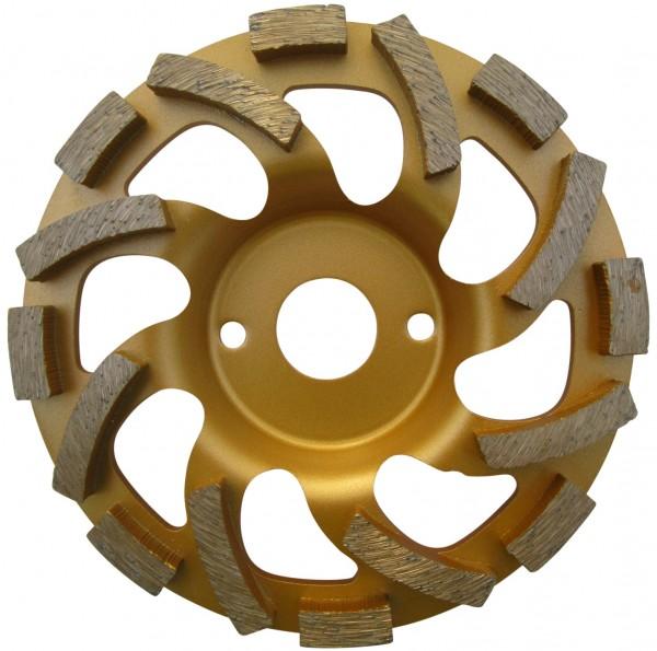 Diamantschleiftopf für Estrich, Beton und Kleberreste 180 mm