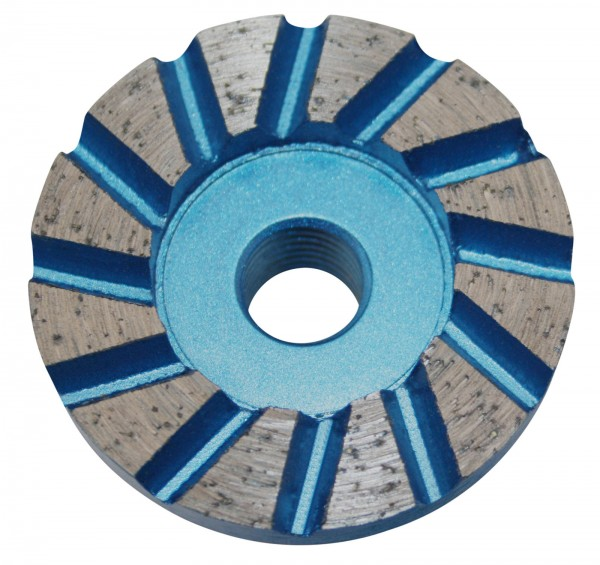 Diamond cup grinding wheel SPECIAL - 50 mm - for screed, cement, tile adhesive
