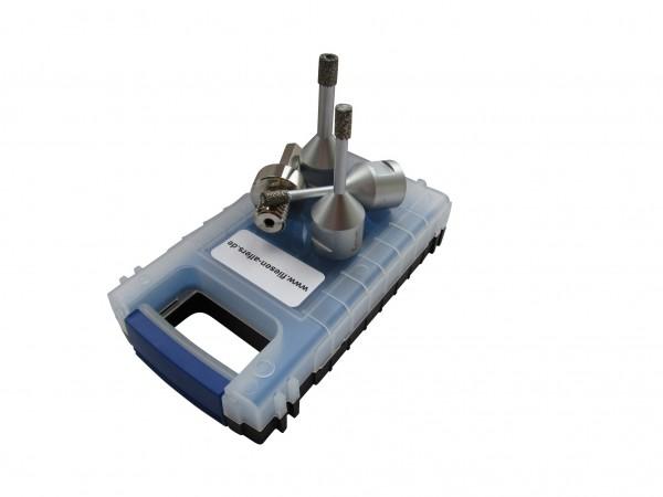 Bohrkronenset besteht aus 6,8,10 mm +Adapter zum Anschluss an die Bohrmaschine