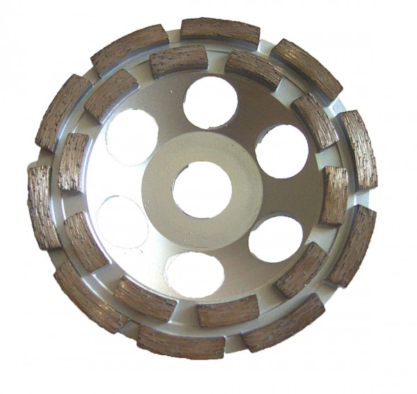 Diamond cup grinding wheel - 125 mm
