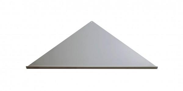 Duschablage-Eckablage, dreieckig, gleichschenklig Breite:355x250x250mm