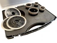 Black Tiger SET 35, 40, 50, 68 mm + 3 Diamantscheiben 125 mm