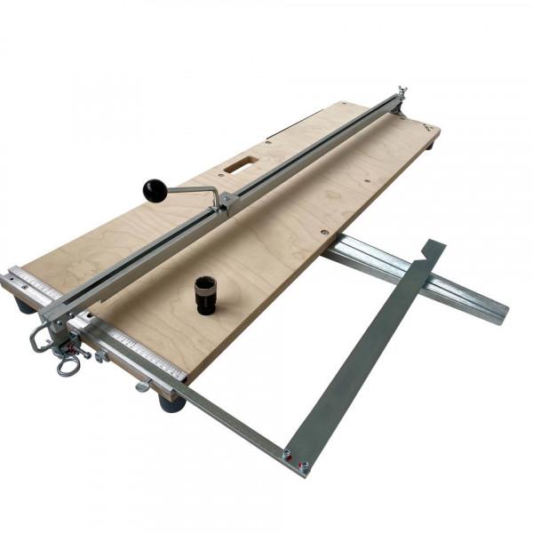 Hufa 1200 C-AL German Style - tile cutter - 120 cm cutting length