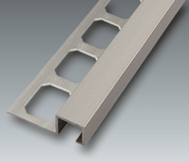 Alu Quadro-Profil, silber eloxiert, Höhe 11 mm, je 2,50 m/Schiene