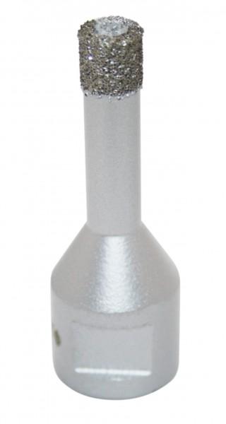 Diamond core drills - 6, 8, 10, 12 or 15 mm