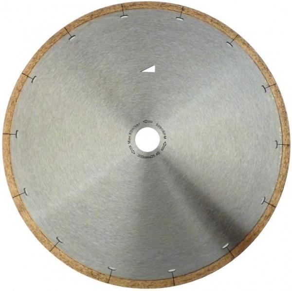 Diamantscheibe Nasschnitt 250, 300, 350 mm Bohrung 25,4 mm