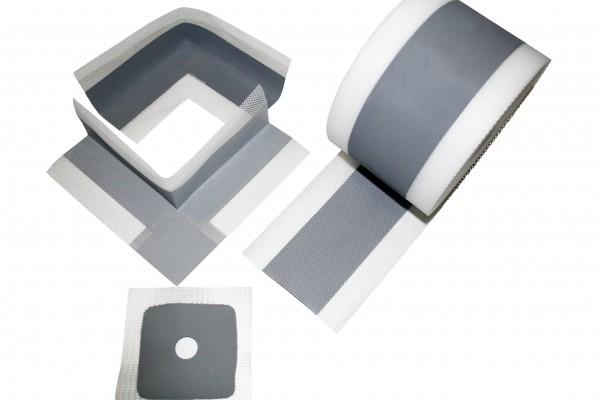 dichtband 50 m bad dusche dichtbandecken dichtmanschetten dichtband abdichtung silikon. Black Bedroom Furniture Sets. Home Design Ideas