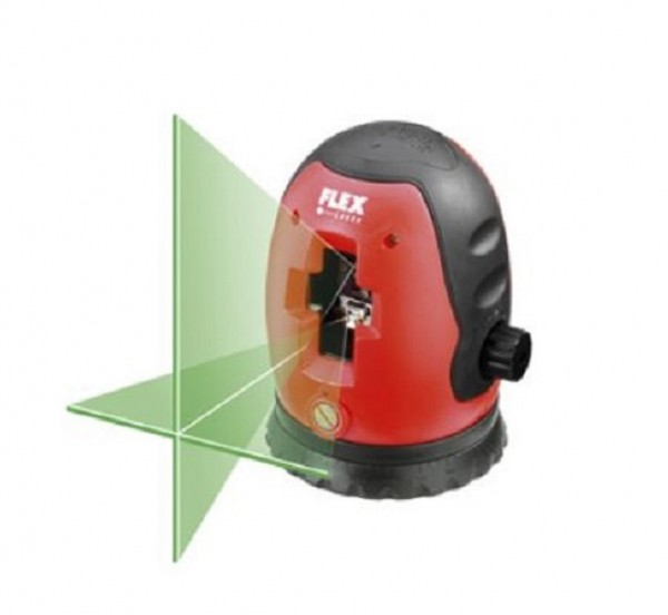 Flex ALC 512 Kreuzlinienlaser Kreuzlaser Baulaser - grün