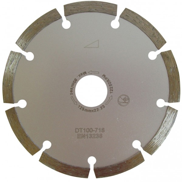 Diamantscheibe für Beton 115 mm / 125 mm