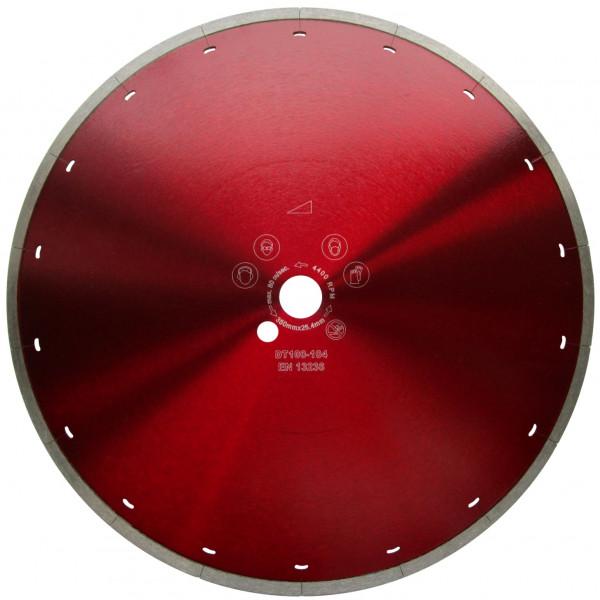 Diamantscheibe Nass-Schnitt / Bohrung 30 mm / Durchmesser 250, 300, 350 mm