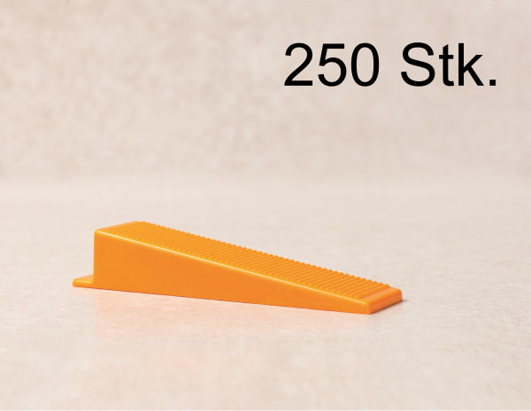 Verlegefix 250 Keile Fliesen Nivelliersystem Kompatibel zu planfix Verlegehilfe