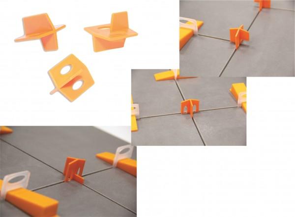 Verlegefix Fliesenkreuze 1,0 mm Fugenstärke
