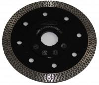High-End-Diamantscheibe BLACK TIGER, 125 mm, 1,3 mm, Ornamentsegment, verstärkter Flansch