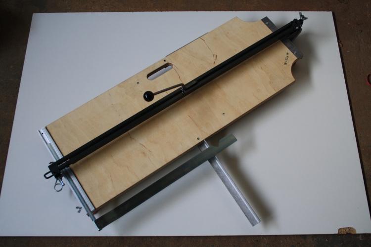 hufa fliesenschneider 1000 c al 100 cm schnittl nge ebay. Black Bedroom Furniture Sets. Home Design Ideas